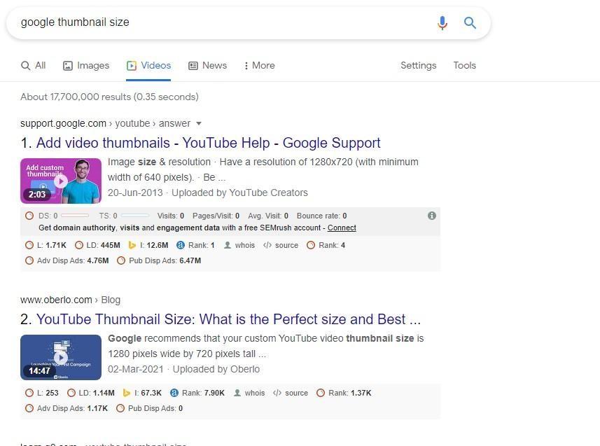 Optimize Your Videos Thumbnail
