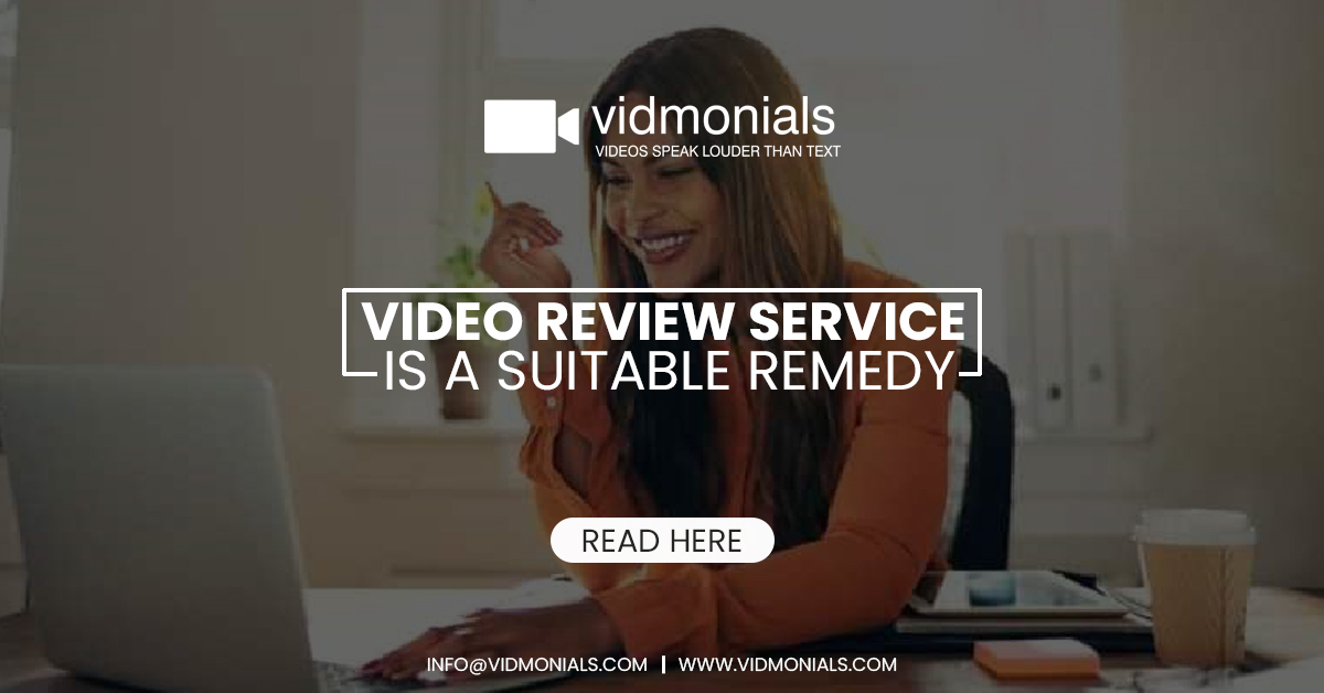 video review service is a suitable remedy