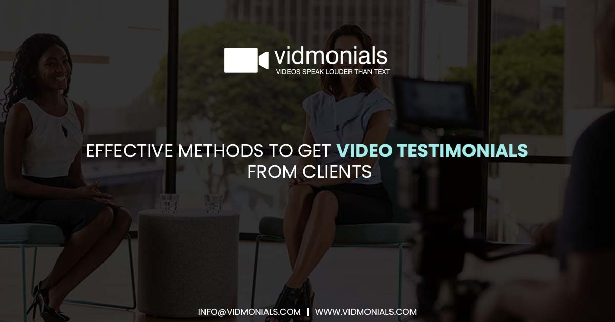 Effective Methods to Get Video Testimonials from Clients